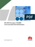 HUAWEI USG6000 Series Next-Generation Firewall Datasheet (1)