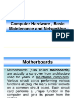 1Hardware. Maintenance ,Trouble Shooting & Networking.ppt