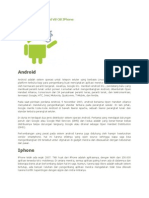 Perbedaan OS Android vs OS iPhone