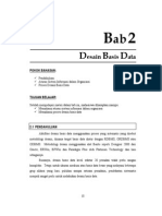 Desain Basis Data