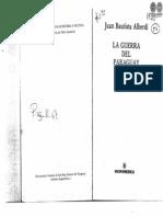 LA GUERRA DEL PARAGUAY - JUAN BAUTISTA ALBERDI - PARAGUAY