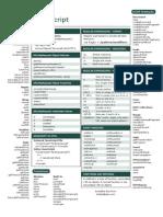 Javascript Cheat Sheet v1