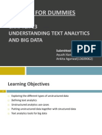 Big Data Text Analytics