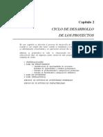 Capitulo 2 Arboleda - Ciclo de Desarrollo de Los Proyectos
