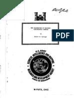 Military Cartographic Camera Calibration
