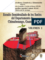 Taxonomia de Suelos Chimaltenango