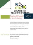 Teacher-Powered Schools Mini-Anthology