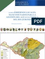 losgobiernoslocalesmancomunadosparalagestindelagualacuencadelriojubones30-nov-2010-101111152412-phpapp02.ppt