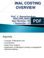 Marginal Costing- An Overview.sept.20121