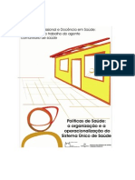 EPSJV2007_Politicas de Saude_ Organização e Operacionalização Do SUS