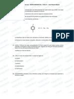 Lista Quimica Organica - Nomenclatura