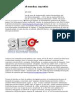 posicionamiento web mendoza argentina