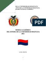 Nuevo Modelo Academico en La Sub 2011