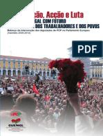 20140421 Balanco Intervencao Deputados Pcp Pe 2009 2014