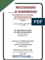 Es Las Necesidades de La Humanidad Se encuentran en el mensaje del Profeta Muhámmad