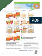 2014 School Calendar