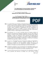 Acuerdo Del SGP Entre IESS-MRL