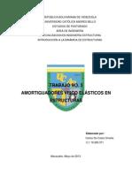 AMORTIGUADORES VISCO ELÁSTICOS EN ESTRUCTURAS