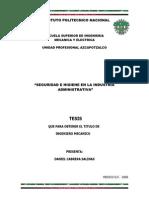 Seguridad e Higiene en La Industria Administrativa