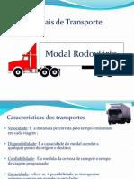 Modais de Transporte - Modal Rodoviário