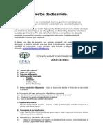 Formato Proyectos de Desarrollo ADRA