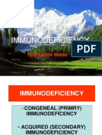 Immunodeficiency.