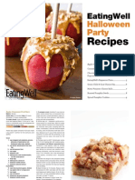 EatingWell - Halloween Party Recipes Cookbook