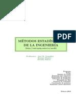 METODOS ESTADISTICOS DE LA INGENIERIA