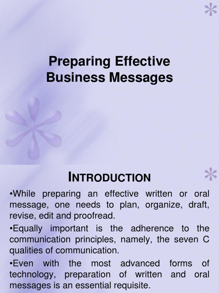what are some suggestions for an effective business introduction