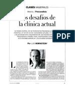 Los Desafios de La Clinica Actual