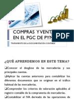 Compras y ventas en el PGC de Pymes