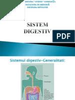 LP4. Aparatul Digestiv I (Supradiafragmatic)