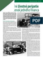 Neuveriteľné životné peripetie - zo spomienok financa z roku 1947 (Colné aktuality 3-4/2009)
