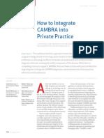 Cómo integrar el protocolo CAMBRA en tu consulta