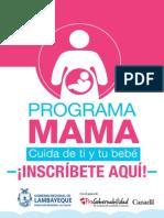 Afiche MAMA Inscribete Aqui