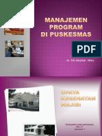 1.Manajemen Program Di Puskesmas Blok 21-2011
