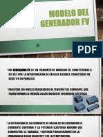 Modelo Del Generador FV