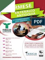 Cartilla Fenicia Programación Mes de Mayo Junio y Julio