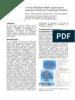 Diseño Mecánico de una Plataforma Multi-registro para la Verificación de Instrumentos de Medir por Coordenadas Portátiles