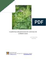 Agricultura Ecologica - Huertos Organicos en Camas de Cobertura