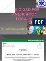 Toxicidad Por Anestesicos Locales