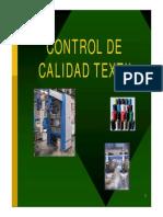 Control de Calidad Textil