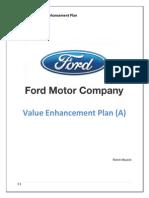 Ford Motor Value Enhancement Plan Solution