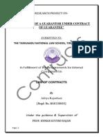 Contracts Project-- Aditya Rajasthani