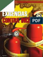 REVISTA Ed.21 - Exigências Contra Incêndios