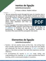 Elementos de Ligação - Educação Matemática 2