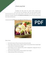 Cara Membuat Salad Buah Yang Enak