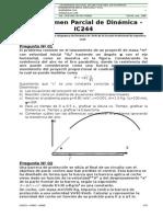 Examen de Mecanica Dinamica 2008