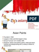 Asian Paints valuation