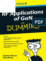 Rf Applications of Gan for Dummies